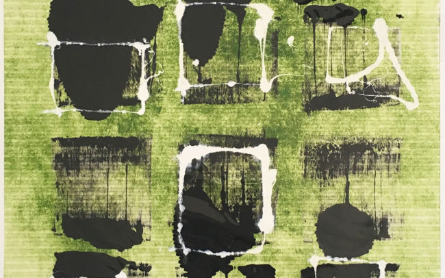 Pamela Dove Art | Maze 2019 MonotypePrint
